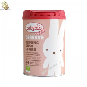 Babybio Organic Deserve for (1-3 years old)