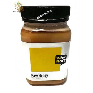 why not? Organic Raw Honey (500g), New Zealand